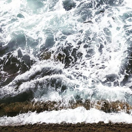 Water Nature No People High Angle View Day Sea Motion Full Frame Wave Beauty In Nature Close-up Scenics Ocean Outdoors