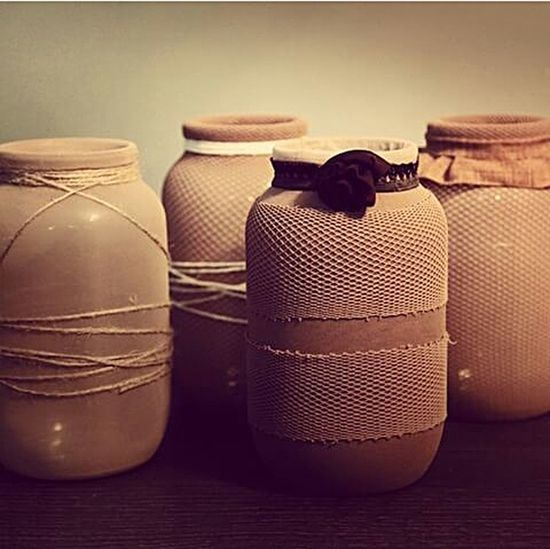 #bottles #decoration #rustic #brown #interiors