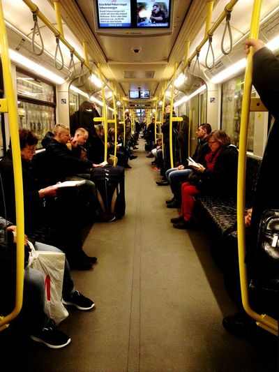 Long Train Is Long Long Train Running Notes From The Underground Vanishing Point Tunnel Vision