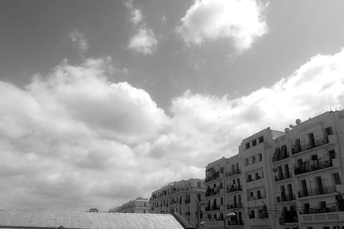 Photography Photo Photographer Photoshooting Debutante Street Walk Street Wall Blackandwhite Black And White EyeEmNewHere EyeEm Best Shots Buildings Architecture Clouds Building Highbridge Lovely Sea City Storm Cloud Castle Sky Architecture Building Exterior Built Structure Cloud - Sky Sky Only Horizon Over Water