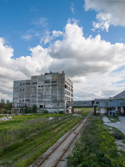 A fertilizer factory, demolished few years ago. Abandoned Buildings Architecture Building Exterior Built Structure Cloud - Sky Demolished Building Factory Industrial No People Outdoors Sky