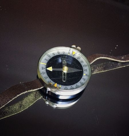 Compass Compass Survive No People Technology Time Close-up Clock Day Outdoors