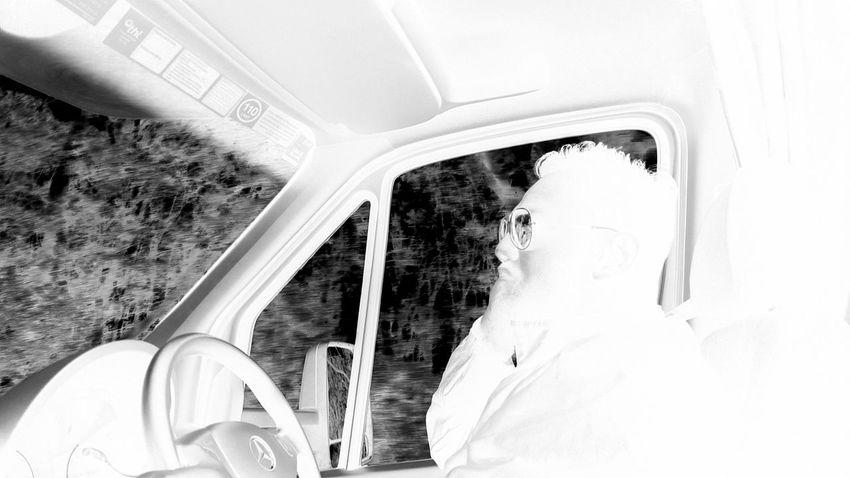 black and white in motorhome Blackandwhite Motorhome Maui Motorhome Australia & Travel Driving EyeEm Selects Young Women Adventure Car