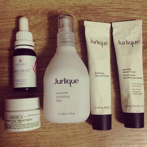 daily skincare Jurlique Kiehls Kosmea Skincare instadaily instamood moodatagram instagramer healthy