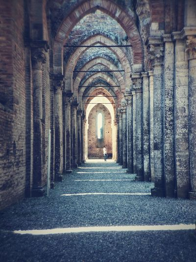 San Galgano Arch Church Cathedral Architecture Iphonephotography IPhoneography Light And Shadow Abbey Ruins VSCO