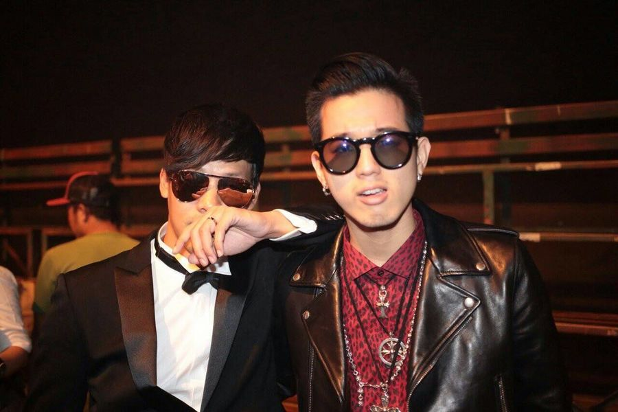 with the one and only at his wedding! Yvessaintlaurent Chromehearts