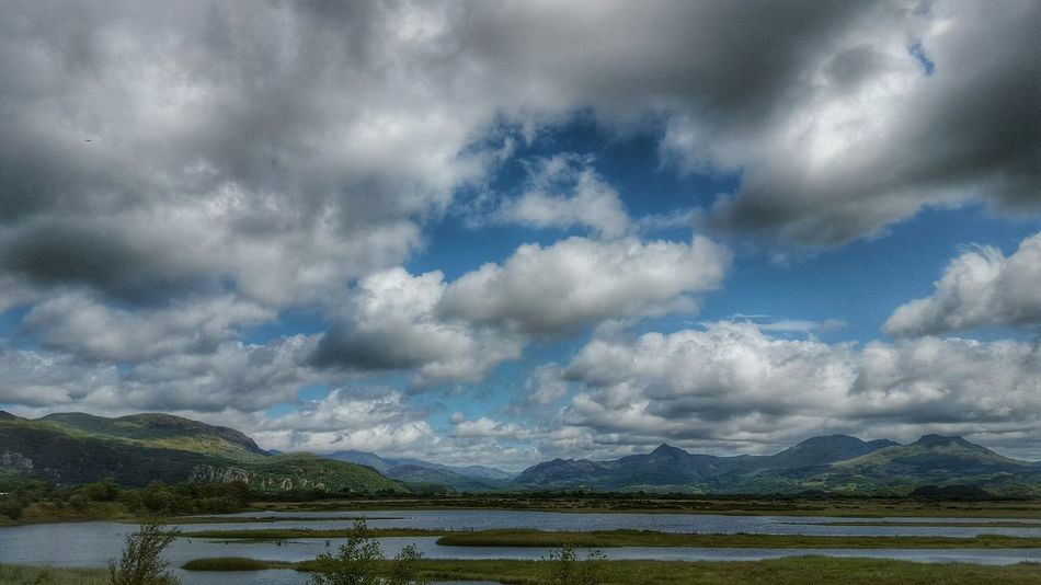 Clouds And Sky Clouds North Wales Eye4photography  EyeEm Best Shots Wales The Great Outdoors Porthmadog Summer Nature_collection