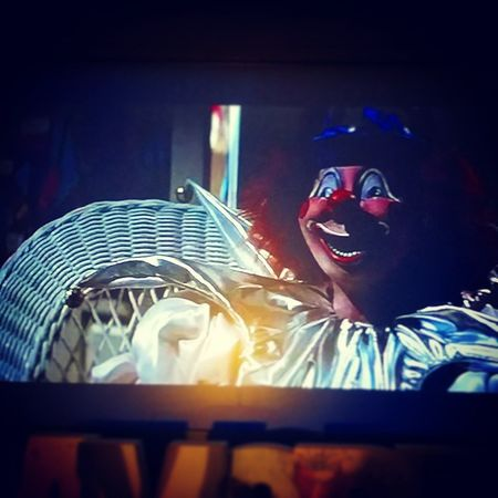 I blame you for my fear of clowns! Coulrophobia Clowns Poltergeist Halloweenmoviemarathon movienumbertwo halloween