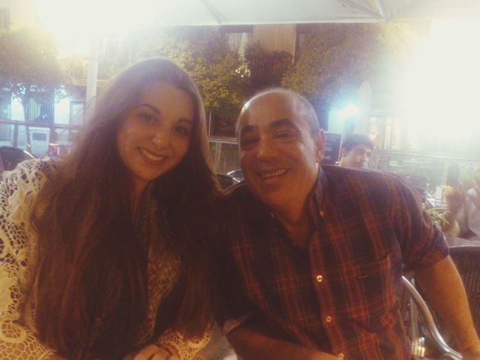 Madrid con mi padre ??