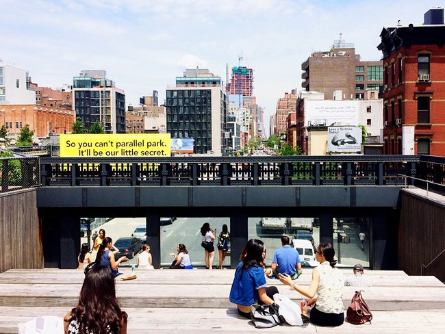 I Heart New York New York City NYC Highline Cityscapes The High Line People