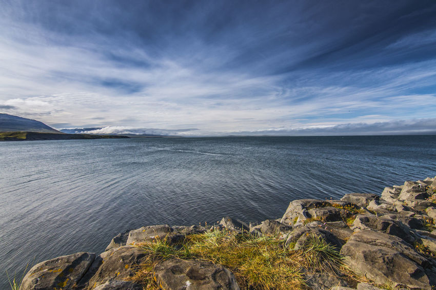 Iceland Beauty In Nature Day Horizon Over Water Island Nature No People Outdoors Rock - Object Scenics Sea Sky Tranquil Scene Tranquility Travel Destinations Water