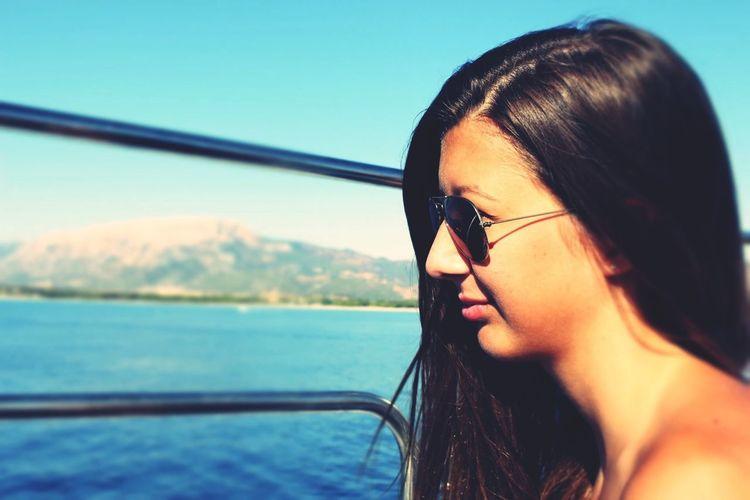 Sunny Day Coast Boat Trip Sardegna2013