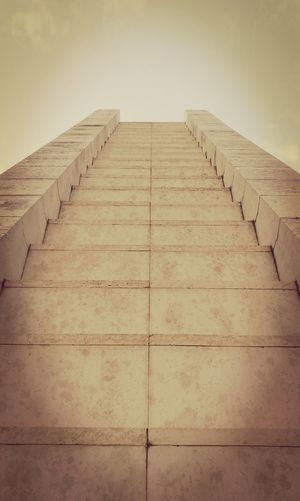 EyeEm Outdoors Sky Collection Architecture Above Clear Sky Steps