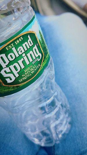 Water PolandSpring Wauh summer Day