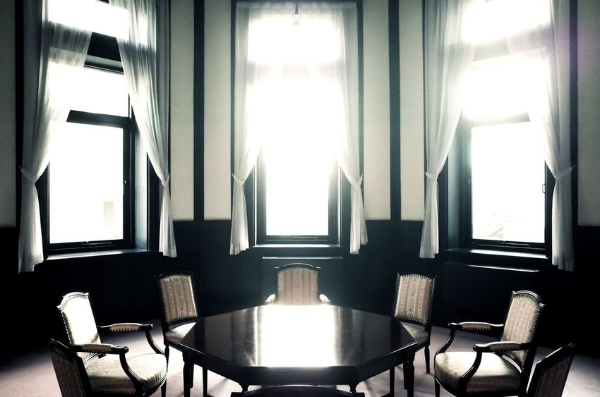 Ricoh Gr Window Chair Table Indoors  Empty Sunlight No People Day Architecture