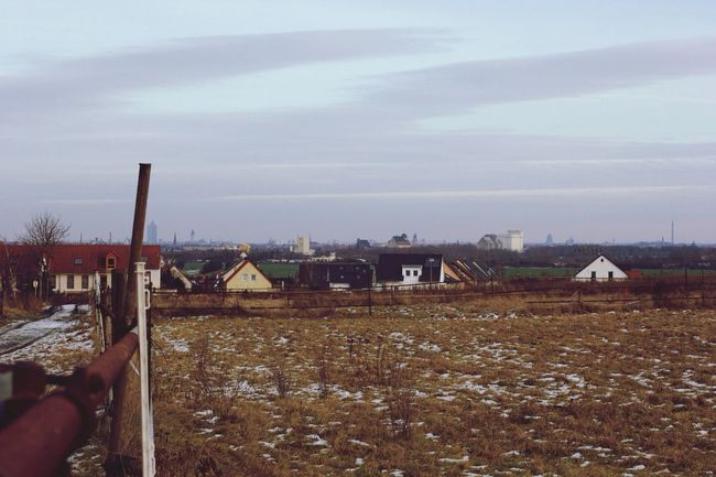 Enjoying The View Leipzig Skyline Landscape