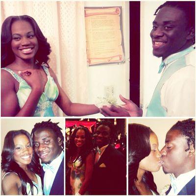 #Prom2k13 ♕웃유♔.. #PromDate #Bf My #Always & #Forever