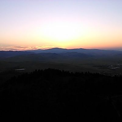 Number one thing on my Summer Bucketlist crossed off- watch sun set from top of MtHelena Nofilter Montana