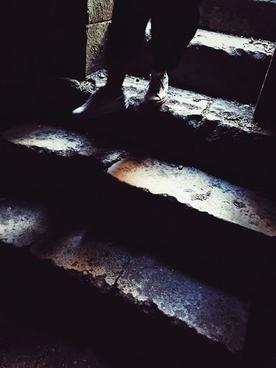 Down Steps One