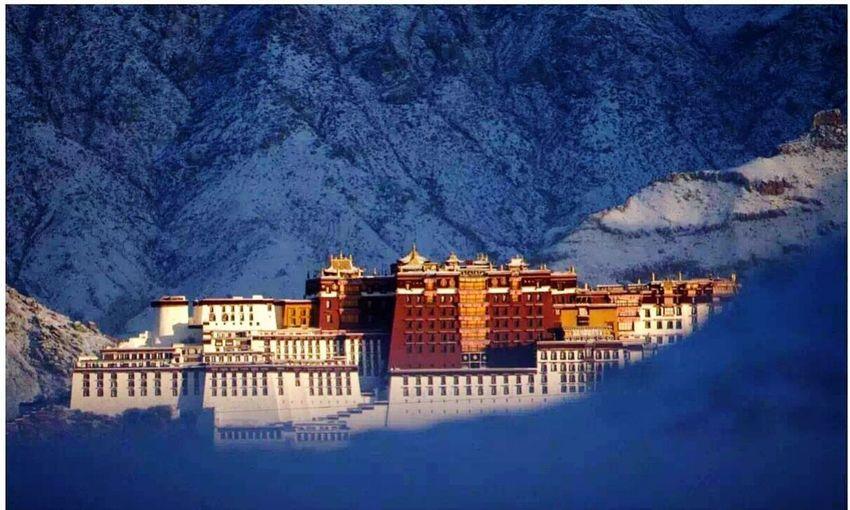 Tibet Tample Potala.