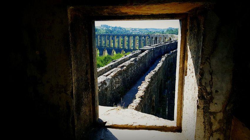 Aqueduto pegões Monuments Monument Monumentos  Monument Valley Aqueduct Aqueduto Dos Pegões Window