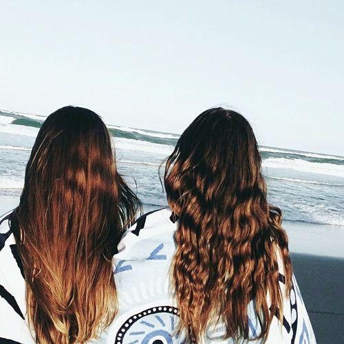 Instagram recreation♥️ Beachphotography Saltyair Caramelhair BFF♡  Instalove First Eyeem Photo