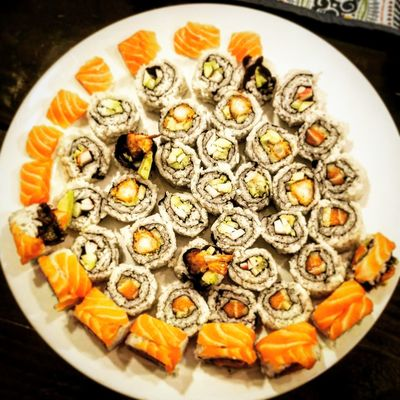 Sushi Foodie Food Ready-to-eat Vegetable Freshness Healthy Eating