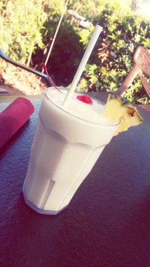 Virgin Pinacolada Sheraton Vistana Village Summer 2014 Orlando, Florida- Disney Refreshment