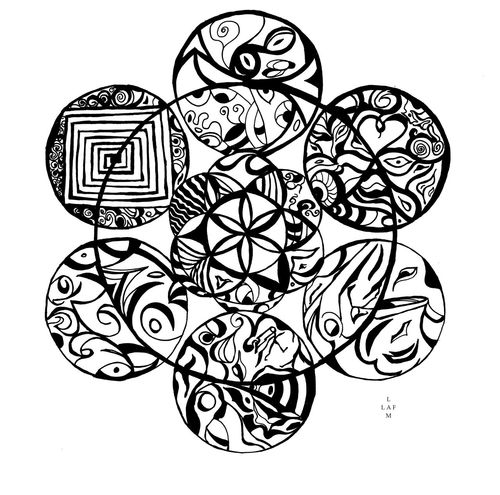 Art And Craft Creativity Design Mandala Paper View Pattern Shape Sharpie Sharpie Art Geometry Circle Geometric Shapes Artist Artistic