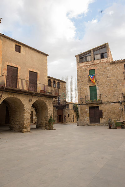 Catalonia Country Rural SPAIN Architecture Building Exterior Built Structure City Cloud - Sky Day Girón Medieval No People Old Outdoors Peratallada Sky