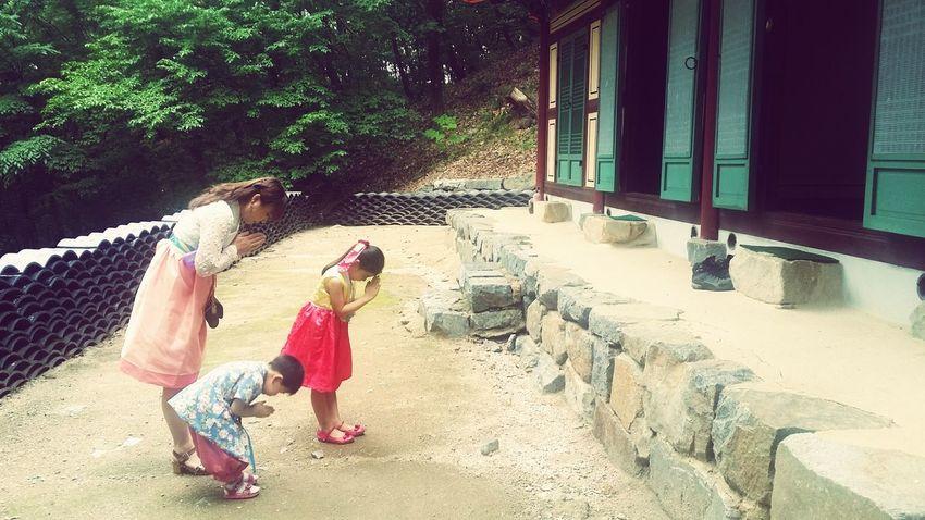Feel The Journey Temple Family Korea