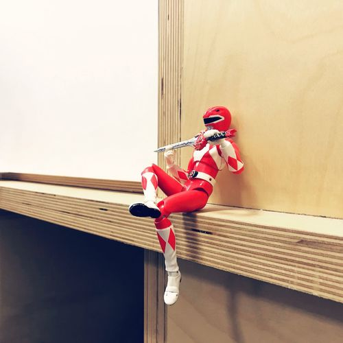 We all need a break sometime Break Power Ranger Power Rangers Superhuman Robot Toy Toyphotography Alive  TakingABreak Mini Red The Week On EyeEm