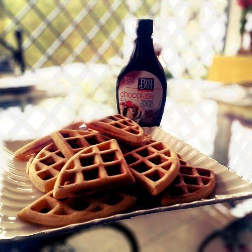 Breakfast Homemade Waffles Waffles Belgan Waffles First Eyeem Photo