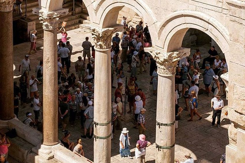 Historical old town Split | Split, Croatia Croatia Travel Split Oldtown Historical Unesco