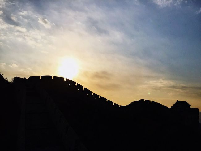 Architecture Built Structure Building Exterior Sky Silhouette Low Angle View No People Sunset Outdoors Travel Destinations Cloud - Sky Nature Beauty In Nature Day