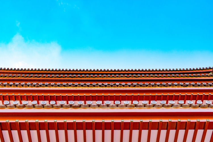 Sky Travel Destinations Architecture Cultures Building Exterior No People Clear Sky Built Structure Outdoors Day Temple Kumamoto Japan Tamana The City Light EyeEmNewHere