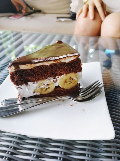 Close-up of sweet food on table