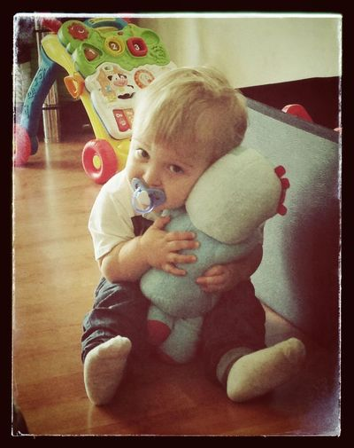 Someone loves Iggle Piggle! In the night In The Night Garden Iggle Piggle Cuddlytoy Hugs