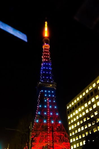 Geometric cityscapes Illuminated Night Travel Destinations Tower Tall - High Celebration Architecture Tourism Low Angle View Built Structure Travel Building Exterior City Towers Tokyo Tower Tokyo Street Photography Geometric Shape Tokyo,Japan Tokyo Night Skyscraper Modern