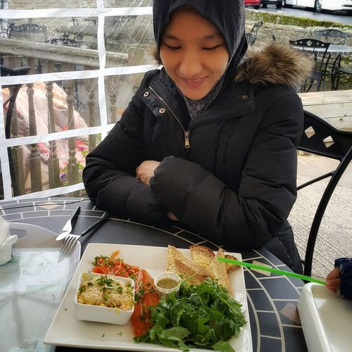 Lunch at Arlington Row. Only Women One Woman Only Food And Drink Freshness Healthy Lifestyle Close-up One Young Woman Only Real People Warm Clothing Autumn In London Winter Clothing Fresh Trout Arlington Row, Cotswolds Having Lunch On The Go Healthy Lunch Human Hand One Person Adults Only Muslimah Muslim Woman Food EyeEmNewHere Young Girl Togetherness Fresh Food On A Plate Postcode Postcards Second Acts