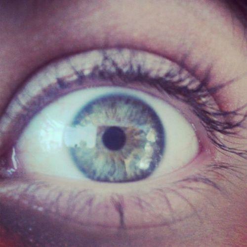 Eyes Taking Photos That's Me Hello World