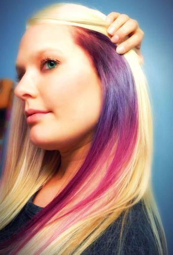 First Eyeem Photo Purple Hair