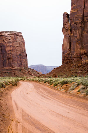 Arid Climate Day Desert Extreme Terrain Landscape Monument Valley Tribal Park Nature No People Outdoors Rock - Object Sand Sand Dune Sky Tourism