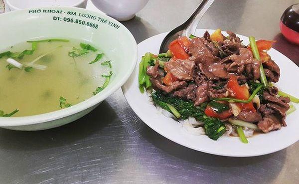 Cứ gọi là ngon nhất Hà Lội 🍴🍲 😆😆😆 Pho Vietnamfoods