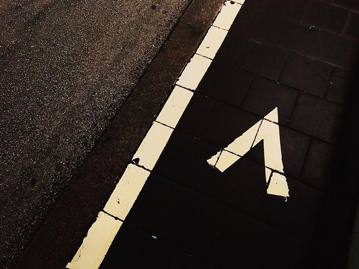 Asphalt City Paving Stone Surface Level Pedestrian Walkway The Way Forward Hamburg Damaged Imstilldrunk Old