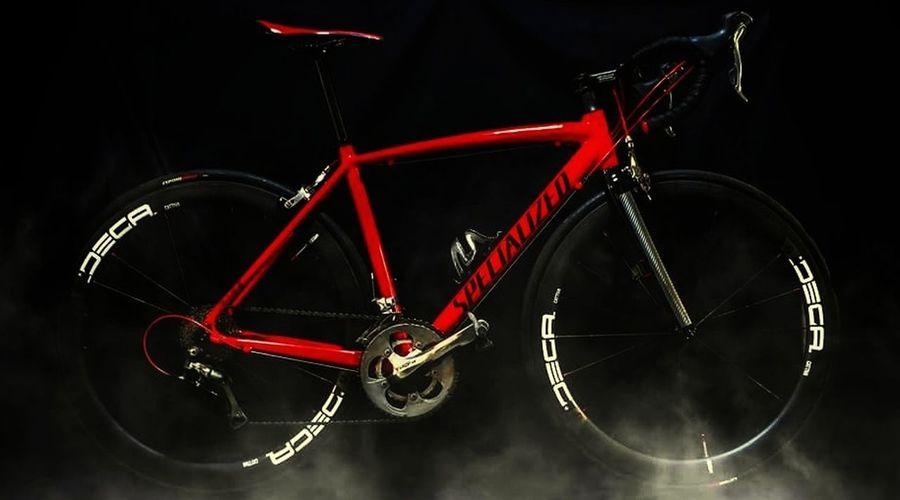 Bike Sport Black Background Red