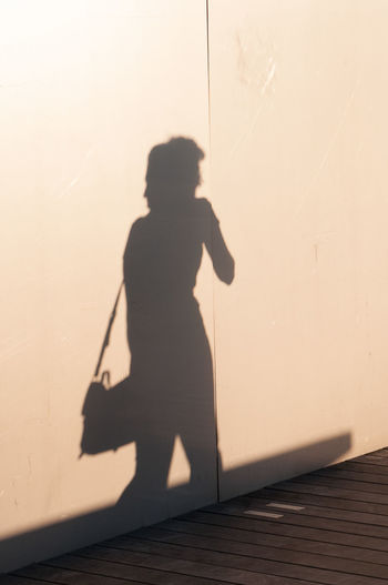 Shadow Silhouette Street Streetphotography Wall Woman