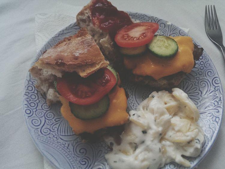 Enjoying Life Cheese! Burger Time Homemade