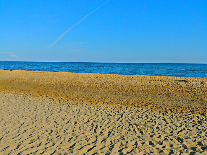 Water Clear Sky Sea Beach Sand Blue Sailing Ship Summer Sky Horizon Over Water