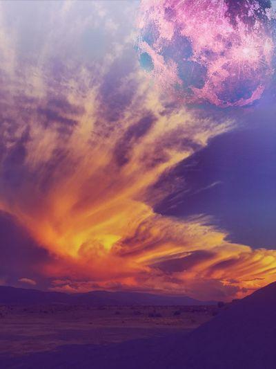 Cedar City, Utah Sunset Editing